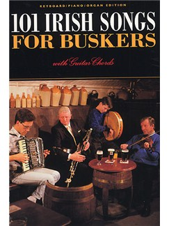101 Irish Songs For Buskers Books | Melody line, Lyrics & Chord, with guitar chord boxes