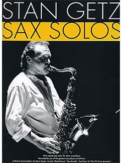 Stan Getz Sax Solos Books | Tenor Saxophone, with chord symbols
