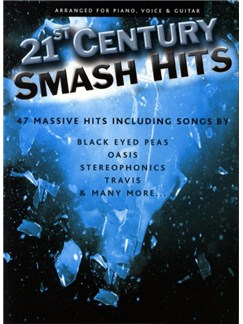 21st Century Smash Hits - Blue Book Books | Piano, Vocal & Guitar (with Chord Boxes)