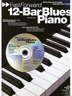 Fast Forward: 12-Bar Blues Piano Books and CDs | Piano & Guitar, with chord symbols