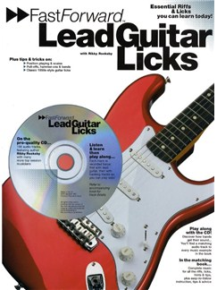 Fast Forward: Lead Guitar Licks Books and CDs | Guitar Tab, with chord symbols