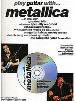 Play Guitar With... Metallica Books and CDs | Guitar Tab, with chord symbols
