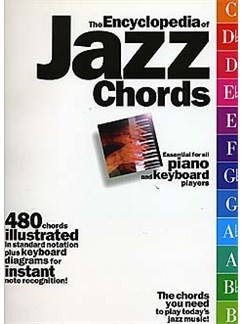 The Encyclopaedia Of Jazz Chords Books | Piano, Keyboard, Organ