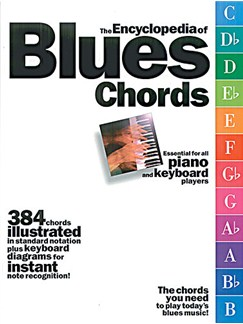 The Encyclopaedia Of Blues Chords Books | Piano, Keyboard, Organ
