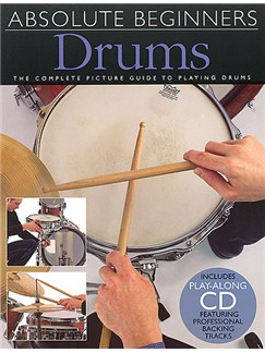 Absolute Beginners: Drums Books and CDs | Drums