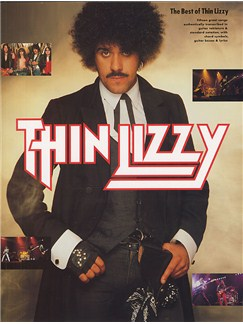 The Best Of Thin Lizzy Livre | Tablature Guitare (Symboles d'Accords)