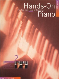 Hands-On Piano Book 2 Books | Piano and Voice, with Guitar chord symbols