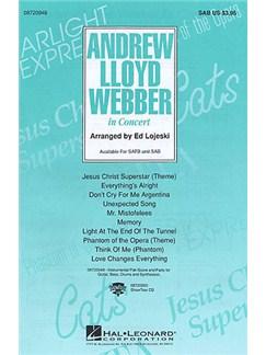 Andrew Lloyd Webber: In Concert (SAB) Books | Soprano, Alto, Bass, Piano