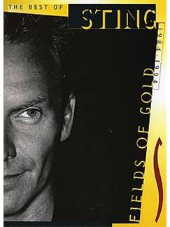 Fields Of Gold: The Best Of Sting 1984-1994 (PVG) Books | Piano and Voice, with Guitar chord boxes