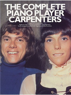 The Complete Piano Player: The Carpenters Books | Piano and Voice, with Guitar chord symbols