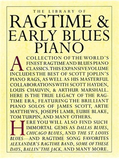 The Library Of Ragtime And Early Blues Piano Books | Piano