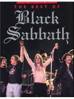 The Best Of Black Sabbath (TAB) Books | Guitar Tab, with chord symbols