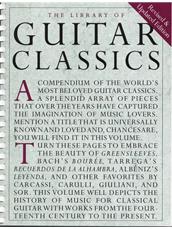 The Library Of Guitar Classics Books | Guitar, Classical Guitar