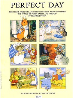 Colin Towns: Perfect Day (The Tales Of Beatrix Potter) Books | Piano, Vocal & Guitar (with Chord Symbols)