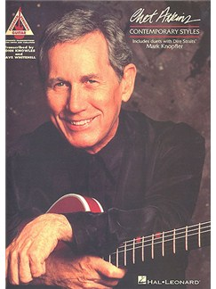 Chet Atkins: Contemporary Styles - Guitar Recorded Versions Books | Guitar Tab, with chord symbols