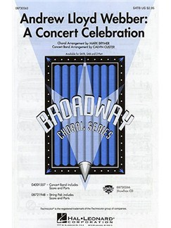 Andrew Lloyd Webber: A Concert Celebration (SATB) Books | SATB, Piano Accompaniment