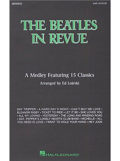 The Beatles In Revue (SAB) Books | Soprano, Alto, Bass, Piano Accompaniment