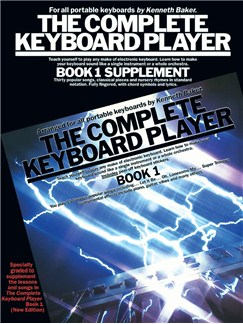 The Complete Keyboard Player: Book 1 (Supplement) Books | Melody line & lyrics, with chord symbols
