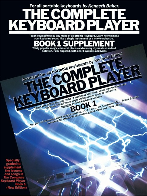 The Complete Keyboard Player: Book 1 (Supplement) - Melody Line ...