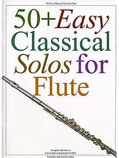 50+ Easy Classical Solos For Flute Books | Flute, with chord symbols