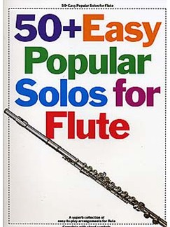 50+ Easy Popular Solos For Flute Books | Flute, with chord symbols