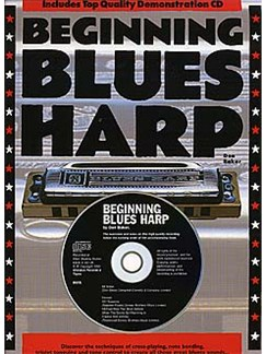 Beginning Blues Harp (English Version) Books and CDs | Harmonica