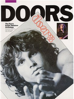 The Doors: Anthology (TAB) Revised Edition Livre | Tablature Guitare (Symboles d'Accords)