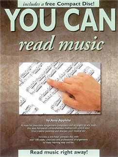 You Can Read Music Books and CDs |