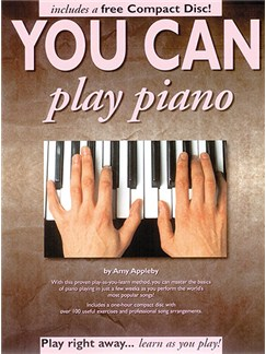 You Can Play Piano! Books and CDs | Piano