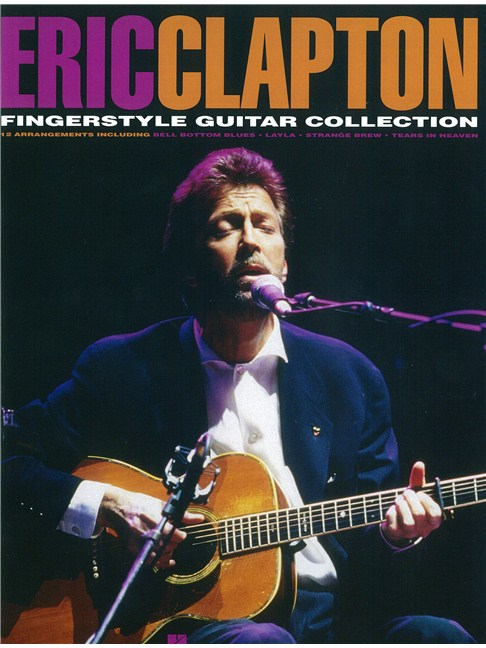 Eric Clapton: Fingerstyle Guitar Collection - Guitar Tab Sheet Music ...