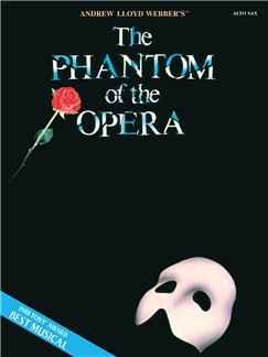 The Phantom Of The Opera Alto Saxophone Livre | Saxophone Alto