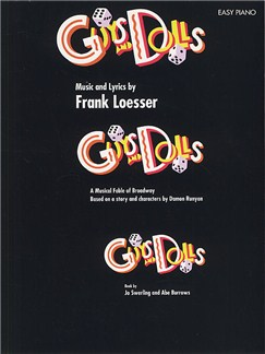 Guys And Dolls: Easy Piano Books | Piano and Voice, with Guitar chord symbols