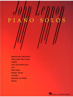 John Lennon Piano Solos Books | Piano