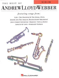 The Best Of Andrew Lloyd Webber For Violin Books   Violin
