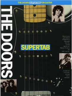 The Doors Supertab Books | Guitar Tab, with chord symbols