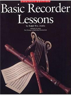 Ralph Zeitlin: Basic Recorder Lessons - Omnibus Edition Books | Soprano (Descant) Recorder, Tenor Recorder
