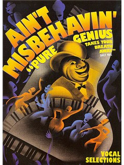 Thomas 'Fats' Waller: Ain't Misbehavin' - Vocal Selections Books | Piano and Voice, with Guitar chord boxes