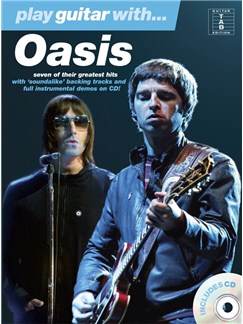 Play Guitar With... Oasis Books and CDs | Guitar Tab, with chord symbols