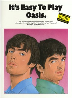 It's Easy To Play Oasis Books | Piano and Voice, with Guitar chord symbols