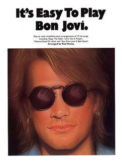 It's Easy To Play Bon Jovi Books | Piano and Voice, with Guitar chord symbols