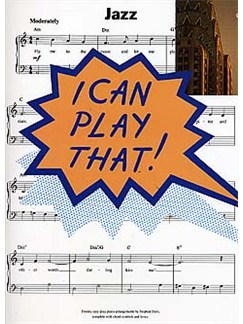 I Can Play That! Jazz Books | Piano, Lyrics & Chords