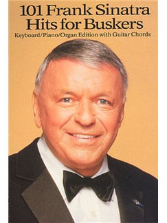 101 Frank Sinatra Hits For Buskers Books | Melody line, Lyrics & Chord, with guitar chord boxes