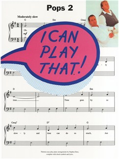 I Can Play That! Pops 2 Books | Piano, Lyrics & Chords