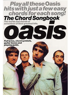 Oasis: The Chord Songbook Books | Lyrics & Chords (with Chord Boxes)