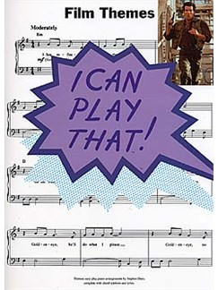 I Can Play That! Film Themes Books | Piano, Lyrics & Chords