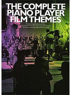 The Complete Piano Player: Film Themes Books | Piano and Voice, with Guitar chord symbols