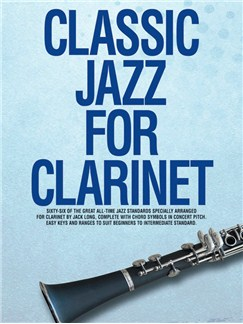 Classic Jazz For Clarinet Books | Clarinet, with chord symbols