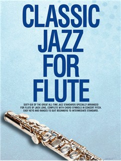 Classic Jazz For Flute Books | Flute, with chord symbols