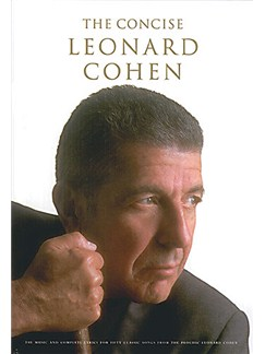 The Concise Leonard Cohen Books | Melody line, Lyrics & Chord, with guitar chord boxes
