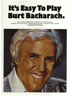 It's Easy To Play Burt Bacharach Books | Piano and Voice, with Guitar chord symbols